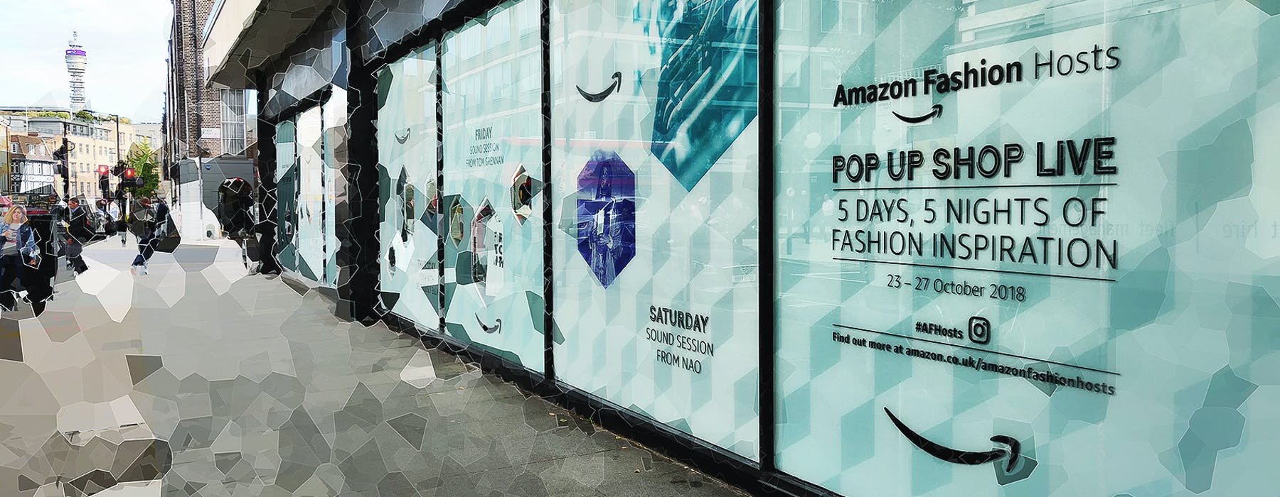 Amazon Fashion's Pop Up Shop Live sets out to influence the influencers